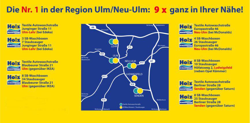 Holz Waschparadies Die Nr 1 In Der Region Ulm Und Neu Ulm